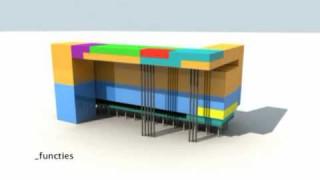 Umbau und Erweiterung eines Bürogebäudes – Studentenprojekt an der TU Delft (2007)