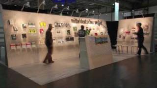 15.000 Bleistifte, 8 Lochplatten, 1 Messestand – Leipziger Buchmesse 2010