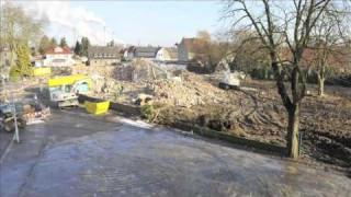 Aldi-Markt in Gladbeck (NRW): Baufeldfreimachung und Neubau im Zeitraffer