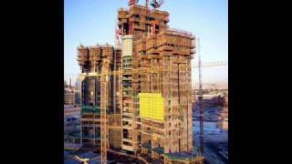 Der Burj Dubai-Wolkenkratzer im Bau