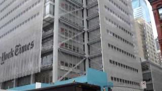 Verkehrslärm und Fassaden-Details: Das neue New York Times Building (Renzo Piano)