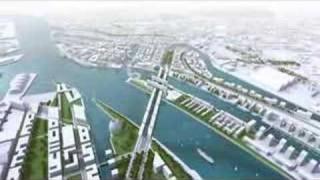 """Lebendige Brücke – Die """"Living Bridge"""" von Hadi Teherani für die Hafencity in Hamburg"""