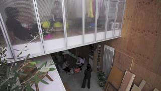 Vorhand-Fassade auf Japanisch
