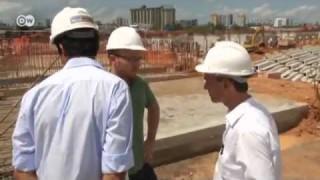 Arena da Amazonia: gmp bauen ein Stadion im brasilianischen Dschungel