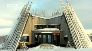 Preisgekrönte Architektur im schwedischen Skigebiet Jämtland