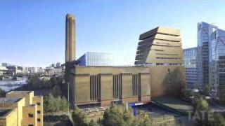 Erweiterungsbau für das Tate Modern Art Museum in London