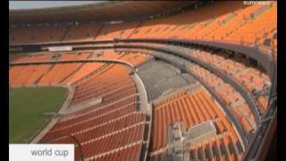 FIFA World Cup 2010: Das Soccer City Stadion in Johannesburg