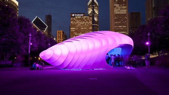 Chicago: Der Burnham Centennial Pavilion von Zaha Hadid Architects (2009)