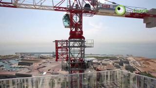 Zeitraffer, gestochen scharf: Der Bau des ZeroZero Diagonal in Barcelona