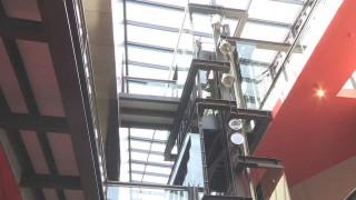 Der Neubau des Fonds Régional d'Art Contemporain in Rennes (Entwurf: Odile Decq)