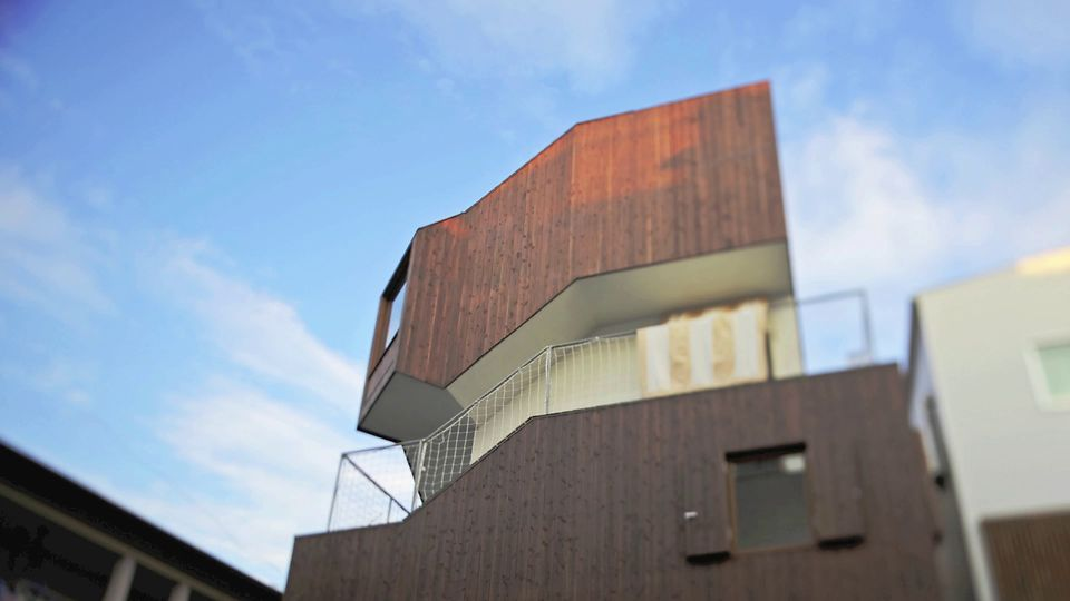 Doppelschraube: Ein Wohnhaus in Tokio von o+h architects