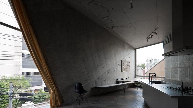 Wohnhaus in Tokyo (Architekt: Hitoshi Wakamatsu)