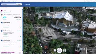 """Konkurrenz für Google Earth: Städte in 3D """"durchfliegen"""" mit Nokia Maps"""