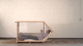 Arbeiten und Schlafen auf kleinstem Raum: Das 1-Quadratmeter-Haus von Van Bo Le-Mentzel