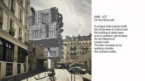 Baulückenschliessung: Kreative Ergänzungs-Architektur aus Paris