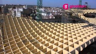 """Im Detail: Der """"Metropol Parasol"""" in Sevilla (Jürgen Mayer H. Architekten)"""