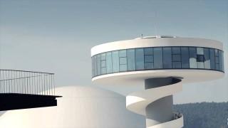 Das Centro Niemeyer in Aviles