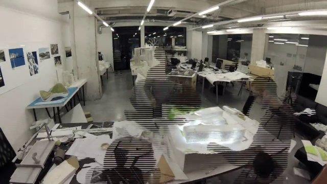 """""""Kampüs Ofis"""" von JDS Architects: Modellbau im Zeitraffer"""
