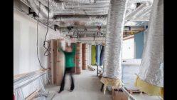 Tragwerk aus Holz: Umbau der Halle Pajol in Paris (Jourda Architectes)