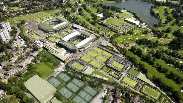 Tennis in Wimbledon: Der Masterplan von Grimshaw Architects, London