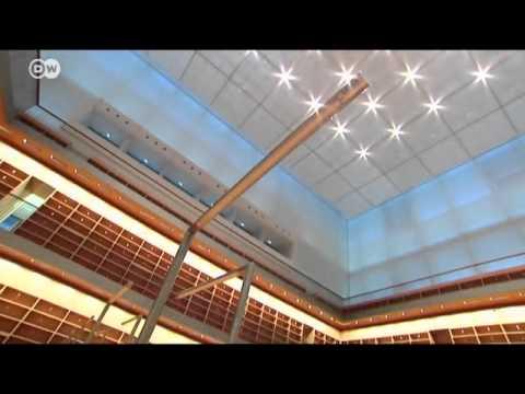 Berlin: Der neue Lesesaal der Staatsbibliothek Unter den Linden (Architekt: HG Merz)