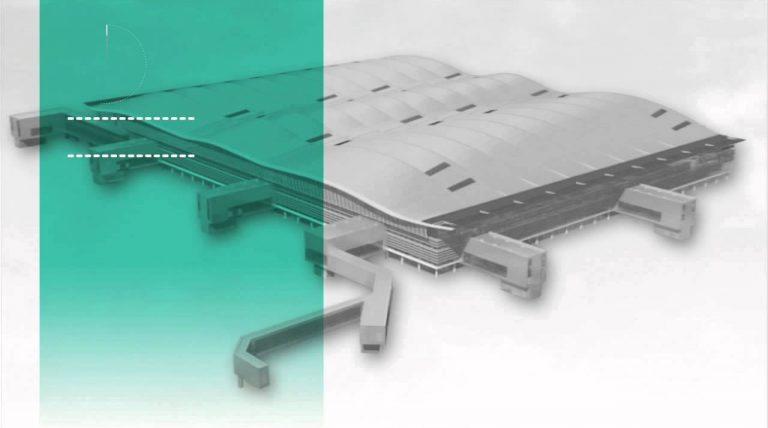 Das neue Terminal 2 in London-Heathrow (Luis Vidal + Architects)