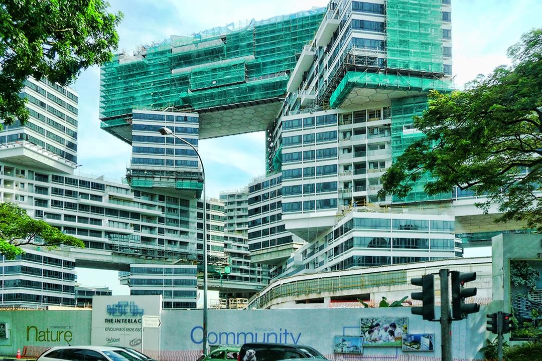 Preisgekrönte Wohnutopie für Singapur: The Interlace (Architekt: Ole Scheeren)