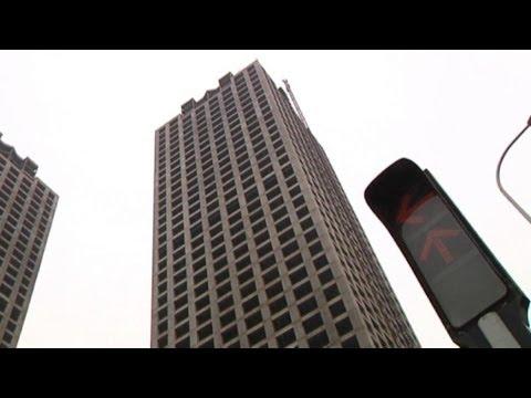 Leere Straßen zwischen leeren Wolkenkratzern: Die Geisterstadt von Tianjin