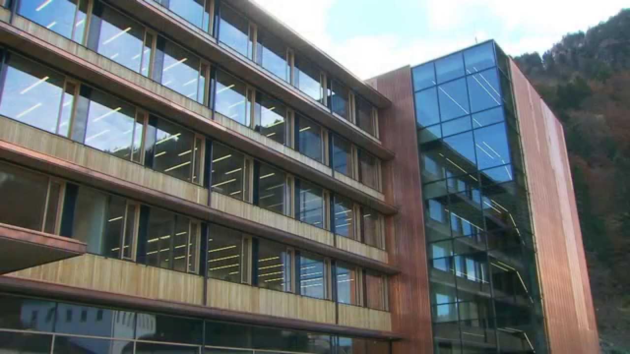 Bürohaus in Holz-Skelettbauweise für die Illwerke im Montafon