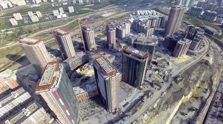 Drohnenvideo von der Baustelle: Das Großprojekt Tema Istanbul aus der Luft