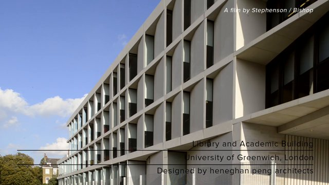 University of Greenwich: Das Stockwell Street Building von Heneghan Peng Architects
