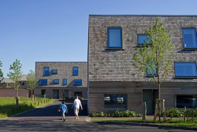 Clay Fields von RHM Architects: Neuer Wohnungsbau in Großbritannien