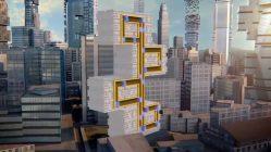 Pac-Man im Hochhaus: Diese Aufzüge fahren auch horizontal