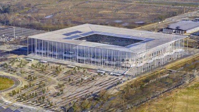 Fast fertig: Der Bau des Nouveau Stade de Bordeaux im Zeitraffer