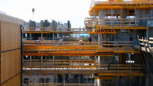 Baustellenbesuch: Die Seestadt Aspern in Wien