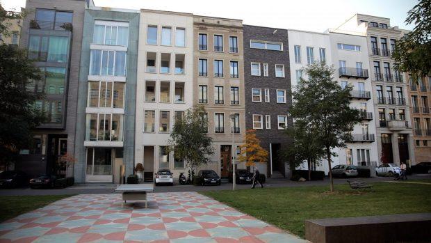 Town Houses auf dem Friedrichswerder in Berlin-Mitte (Foto: Fred Wagner)