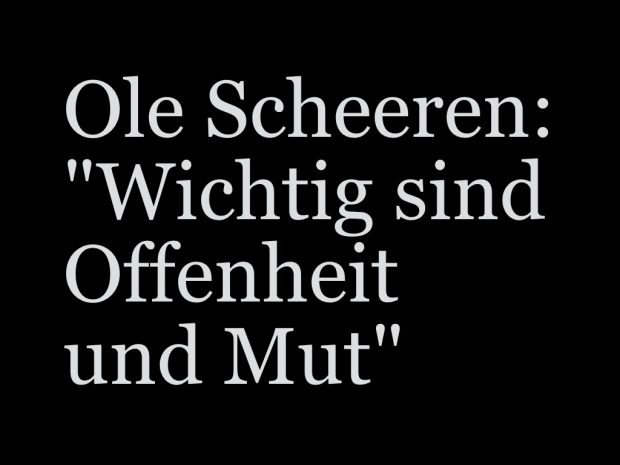 Ole Scheeren im Interview mit der Deutschen Welle