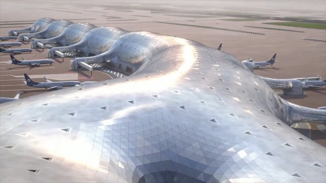 Die Planung des New International Airport in Mexico City (Foster + Partners / Fernando Romero)