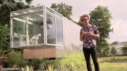 """""""An iPhone I can live in"""" – das """"Kasita"""" Tiny House von Prof. Jeff Wilson in Austin"""
