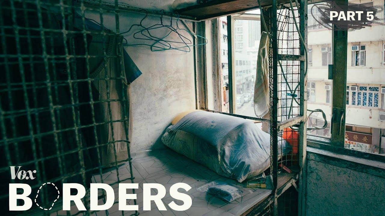 Käfig-Wohnen in Hongkong