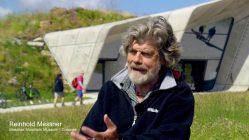 Reinhold Messner über das Messner Mountain Museum Corones in den italienischen Alpen