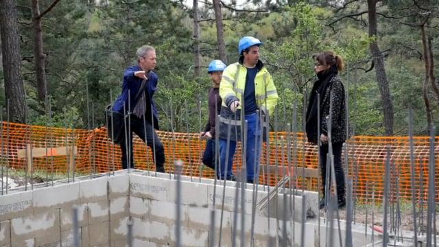 Schwimmbad mit Aussicht: Der Bau eines privaten Pools von Lenfant-Get Architectes