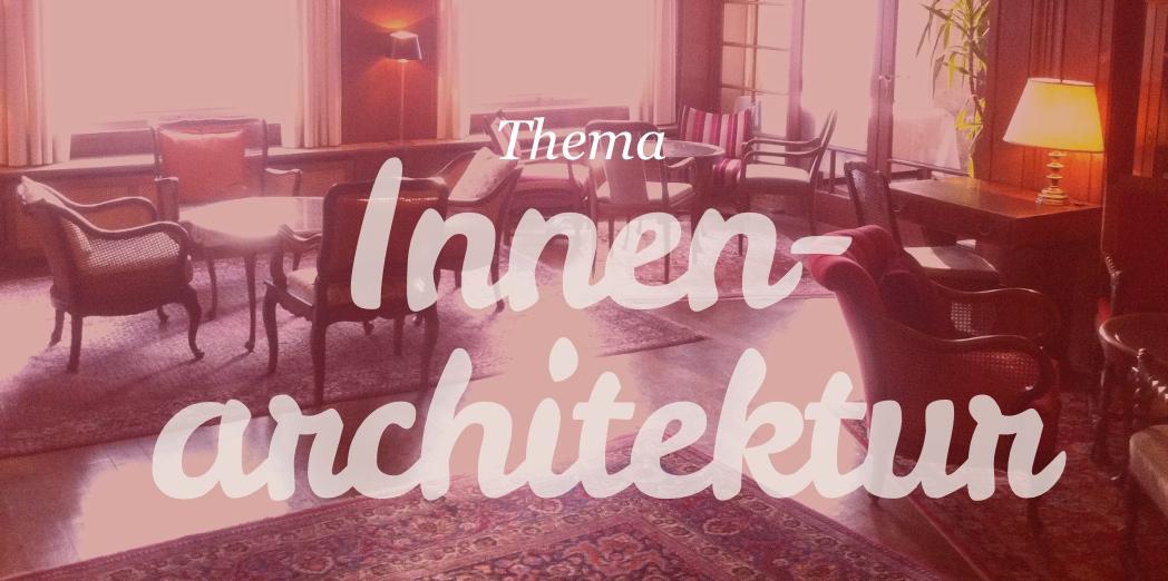 Thema: Videos und Filme über Innenarchitekten, Innenarchitektur, Interior Design (Foto: Eric Sturm)